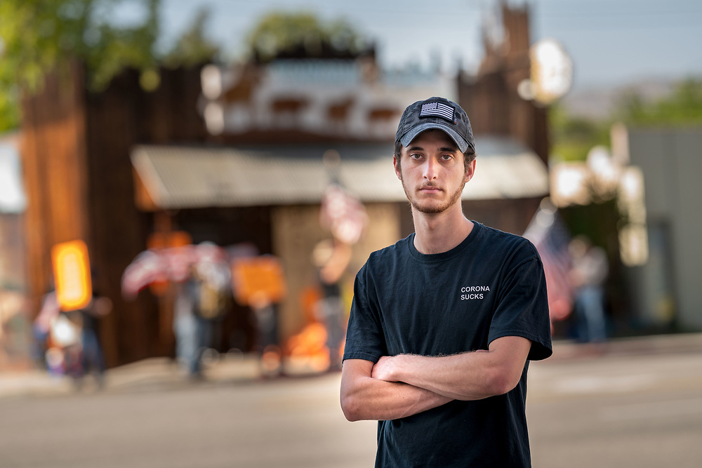 A young man named Lucas Lepejian is in a battle with Burbank authorities who are trying to run him out of business.  Lucas is the 20-year-old son of Baret Lepejian the proprietor of a long-standing western-themed restaurant called Tinhorn Flats; a well known place to dine in Burbank, California.<br /> <br /> Local authorities have attempted to shut down Tinhorn Flats repeatedly.  Each time Lucas defies the orders and reopens.<br /> <br /> Lucas has been arrested three times in defiance of the ridiculous COVID shutdown.