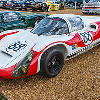 #88, Porsche 910 on 05/07/2018 at the Le Mans Classic, 2018