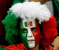 Photo: Glyn Thomas.<br />Portugal v Mexico. FIFA World Cup 2006. 21/06/2006.<br /> A young Mexico fan.