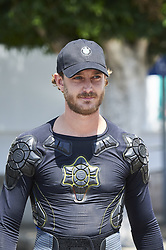 July 31, 2017 - Palma, Baleares, Spain - Pierre Casiraghi arrives the Club Nautico during the 36th Copa del Rey Mapfre Sailing Cup, training day on July 30, 2017 in Palma de Mallorca, Spain. (Credit Image: © Jack Abuin via ZUMA Wire)