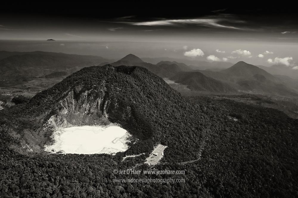 Mount Patuha & Kawah Putih, Ciwidey, Bandung, West Java, Indonesia