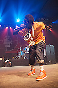 MANCHESTER, TN - JUNE 12:   Flavor Flav of Public Enemy performs at the 2009 Bonnaroo Music and Arts Festival on June 12, 2009 in Manchester, Tennessee. Photo by Bryan Rinnert/3Sight Photography
