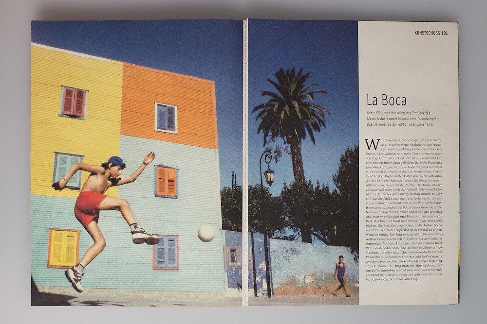 La Boca. #50 Dezember 2005.