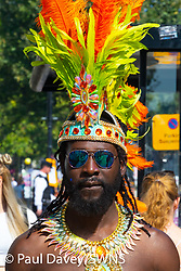 as day two of the Notting Hill Carnival in West London gets underway.. London, August 26 2019.