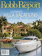 Magazine Cover - Robb Report Star Island