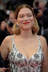 Lea Seidoux attending the Oh Mercy! premiere, during the 72nd Cannes Film Festival