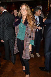 LYDIA FORTE at a party to celebrate the launch of the Maison Assouline Flagship Store at 196a Piccadilly, London on 28th October 2014.  During the evening Valentino signed copies of his new book - At The Emperor's Table.