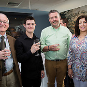 19.06. 2017.                                             <br /> University of Limerick hosts the 5th Global Conference on Transparency Research.<br />  Attending the launch of the event in King Johns Castle were, Dr. Matthew Potter, Curator Limerick Museum, Connel McKeown, Queens University Belfast, Chris McInerney, UL and Miriam Ryan, UL. Picture: Alan Place