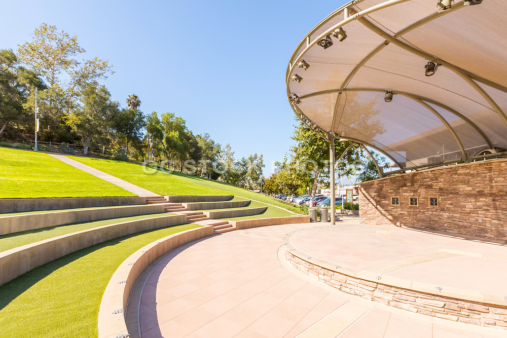 Amphitheater Performance Stage at Crown Valley Park