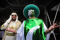 Cricket - 2019 ICC Cricket World Cup - Group Stage: Pakistan vs. Sri Lanka<br /> <br /> Pakistan supporters look to the skies after the match was called off, at The Bristol County Ground, Bristol.<br /> <br /> COLORSPORT/ANDREW COWIE