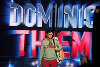 Tennis - 2018 Nitto ATP Finals at The O2 - Day Two<br /> <br /> Mens Singles : Roger Federer (SUI) v Dominic Thiem (Aut)<br /> <br /> Dominic Thiem  enters the arena<br /> <br /> COLORSPORT/ANDREW COWIE