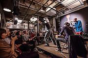 Switzerland, Zurich: Cabaret Voltair, where al the dadaist movement took origin, HUgo Ball dada show