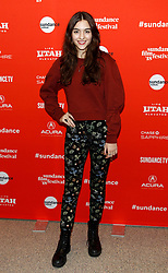 "Melanie Ehrlich at the premiere of ""The Miseducation of Cameron Post"" during the 2018 Sundance Film Festival held at the Eccles Center Theatre on January 22, 2018 in Park City, UT. © JPA / AFF-USA.COM. 22 Jan 2018 Pictured: Quinn Shephard. Photo credit: JPA / AFF-USA.COM / MEGA TheMegaAgency.com +1 888 505 6342"