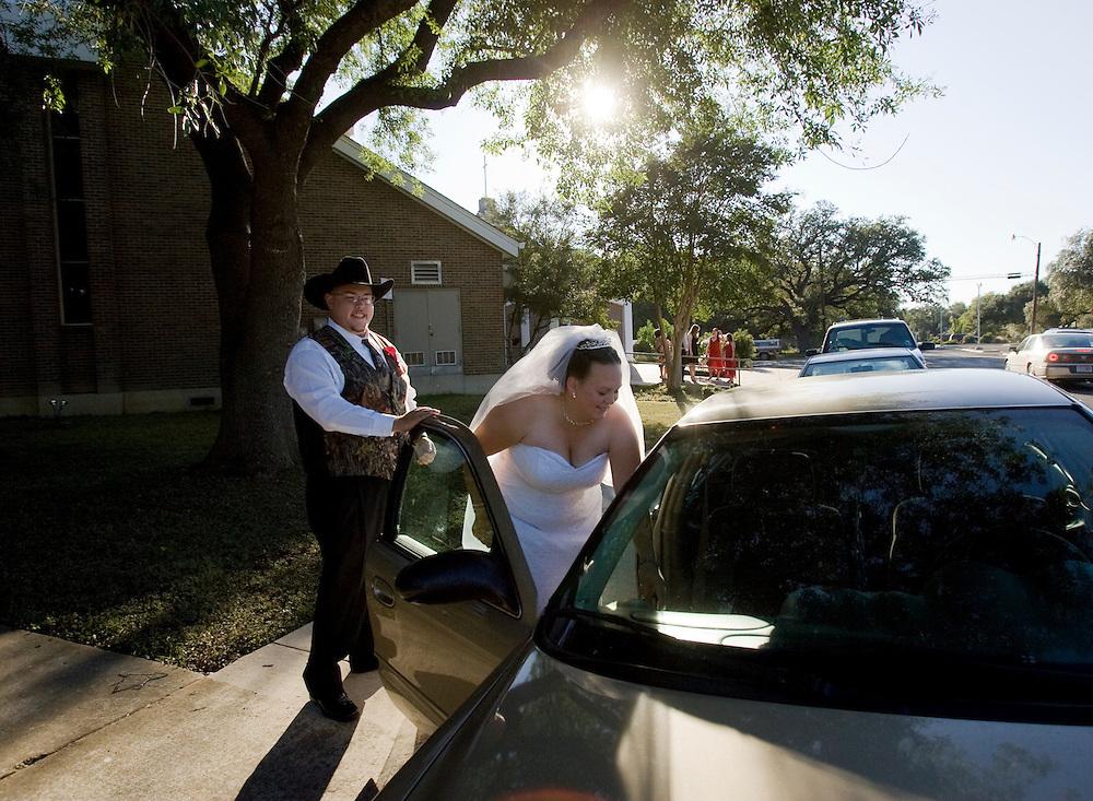 Lara Edminson and Travis Spengler, October 18, 2008.