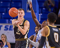 Southern Miss Golden Eagles forward Artur Konontsuk (5) during the Southern Mississippi Golden Eagles at Middle Tennessee Blue Raiders college basketball game in Murfreesboro, Tennessee, Saturday, March, 7, 2020.<br /> Photo: Harrison McClary/All Tenn Sports