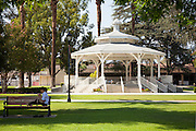 White Gazebo at Temple City Park