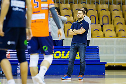 Zoran Kedacic, head coach of ACH Volley during Volleyball match between AHC Volley and Calcit Volley in Round #4 of Slovenian first league, on December 28, 2017 in Hala Tivoli, Ljubljana, Slovenia. Photo by Ziga Zupan / Sportida