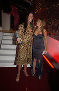 Tamara Mellon and Gerri Halliwell. Glamour Women Of The Year Awards 2005, Berkeley Square, London.  June 7 2005. ONE TIME USE ONLY - DO NOT ARCHIVE  © Copyright Photograph by Dafydd Jones 66 Stockwell Park Rd. London SW9 0DA Tel 020 7733 0108 www.dafjones.com