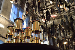 September 20, 2017 - Saint Etienne - Musee De La Min, France - Lampes de Mineur (Credit Image: © Panoramic via ZUMA Press)