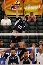 20170524 NED: 2018 FIVB Volleyball World Championship qualification, Koog aan de Zaan<br />Andreas - Dimitrios Fragkos (15) of Greece <br />©2017-FotoHoogendoorn.nl / Pim Waslander
