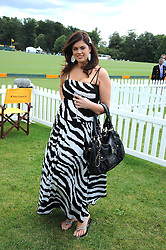 CHLOE MARSHALL at the 2008 Veuve Clicquot Gold Cup polo final at Cowdray Park Polo Club, Midhurst, West Sussex on 20th July 2008.<br /> <br /> NON EXCLUSIVE - WORLD RIGHTS