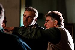 IL VILLAGGIO DI CARTONE. <br /> BARI 26 OTTOBRE 2010<br /> <br /> Ermanno Olmi con Rutger Hauer sul set durante le riprese.<br /> <br /> Foto di Kash Gabriele Torsello