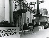 1948 Florentine Gardens Nightclub