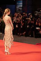 Emilia Jones at the premiere of the film Brimstone at the 73rd Venice Film Festival, Sala Grande on Saturday September 3rd 2016, Venice Lido, Italy.