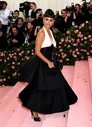 Penelope Cruz attending the Metropolitan Museum of Art Costume Institute Benefit Gala 2019 in New York, USA.
