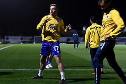 James Daly of Bristol Rovers warms up prior to kick off - Mandatory by-line: Ryan Hiscott/JMP - 27/10/2020 - FOOTBALL - Memorial Stadium - Bristol, England - Bristol Rovers v Hull City - Sky Bet League One