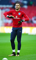September 4, 2017 - London, England, United Kingdom - England's Jack Butland during the pre-match warm-up ..during World Cup Qualifying - European Group F match between England  and Slovakia  at Wembley stadium, on September 4, 2017 in London, England. (Credit Image: © Kieran Galvin/NurPhoto via ZUMA Press)