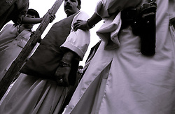 19 August 2005..Undercover Police and Army officers are on alert on any foreigner visiting  Khost