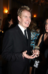 Comedian  PATRICK KIELTY at the Harpers & Queen and Moet & Chandon Restaurant Awards for 2004 held at Claridges, Brook Street, London on 1st November 2004.<br /><br />NON EXCLUSIVE - WORLD RIGHTS