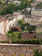 Rooftops of the historic town of Saint Emilion, France
