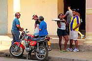 Street scene in Ciego de Avila, Cuba.