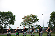 Shadow Armada performs at their last show in Whitewater, Wisconsin on July 19, 2014.