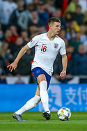 England midfielder Declan Rice (West Ham) during the UEFA Nations League semi-final match between Netherlands and England at Estadio D. Afonso Henriques, Guimaraes, Portugal on 6 June 2019.