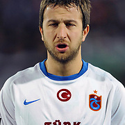 Trabzonspor's Remzi Giray KACAR during their Turkish superleague soccer match Trabzonspor between Kasimpasaspor at the Kocaeli Ismetpasa Stadium in Izmit Turkey on Saturday, 12 March 2011. Photo by TURKPIX