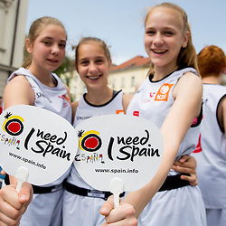 20140523: SLO, Basketball - 2014 FIBA World Cup Spain Trophy Tour, day 1