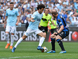 May 6, 2018 - Rome, Lazio, Italy - Felipe Anderson during the Italian Serie A football match between S.S. Lazio and Atalanta at the Olympic Stadium in Rome, on may 06, 2018. (Credit Image: © Silvia Lore/NurPhoto via ZUMA Press)