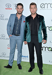 Michael Turchin and Lance Bass attend the 26th Annual EMA Awards at Warner Bros. Studios on October 22, 2016 in Burbank, Los Angeles, CA, USA. Photo by Lionel Hahn/ABACAPRESS.COM