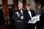 ANT JOHNSON; DANIEL JAY; , Olivier Awards 2012, Royal Opera House, Covent Garde. London.  15 April 2012.