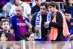 May 6, 2018 - Barcelona, Catalonia, Spain - Real Madrid and FC Barcelona fans during the match between FC Barcelona v Real Madrid, for the round 36 of the Liga Santander, played at Camp nou  on 6th May 2018 in Barcelona, Spain. (Credit Image: © Urbanandsport/NurPhoto via ZUMA Press)