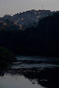 Belo Horizonte_MG, Brasil.<br /> <br /> Corrego Ribeirao Arrudas em Belo Horizonte, Minas Gerais.<br /> <br /> Ribeirao Arrudas stream in Belo Horizonte, Minas Gerais.<br /> <br /> Foto: LEO DRUMOND / NITRO
