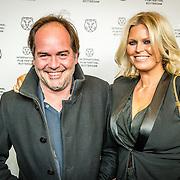 NLD/Rotterdam/20170128 - Premiere Het doet zo zeer, Michiel van Egmond en partner Antoinette Scheulderman