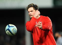 Callum Braley of Gloucester Rugby warms up- Mandatory by-line: Nizaam Jones/JMP - 22/02/2019 - RUGBY - Kingsholm - Gloucester, England- Gloucester Rugby v Saracens - Gallagher Premiership Rugby