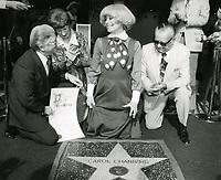 1977 Carol Channing's Walk of Fame ceremony