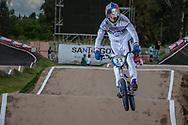 #33 (DAUDET Joris) FRA at the 2016 UCI BMX Supercross World Cup in Santiago del Estero, Argentina