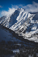 Mount Superior, an icon of the central Wasatch Mountains. Its southface is one of the 50 Classic Ski descents of North America.