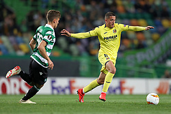 February 14, 2019 - Lisbon, Portugal - Pablo Fornals of Villarreal FC in action during the Europa League 2018/2019 footballl match between Sporting CP vs Villarreal FC. (Credit Image: © David Martins/SOPA Images via ZUMA Wire)